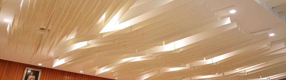 Acoupanel BlastFelt ceiling