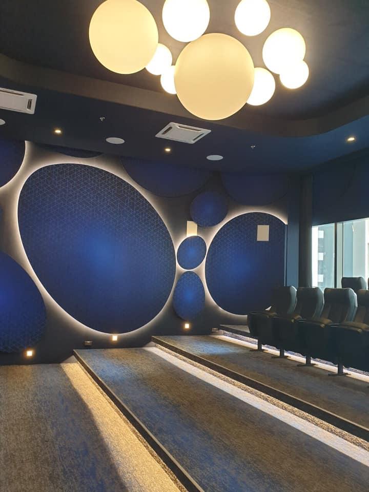 BlastFelt home theater
