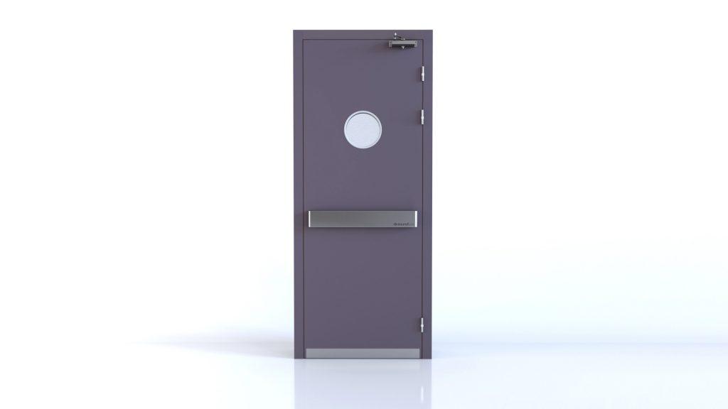 Blastdoor Soundproof wooden door STC45